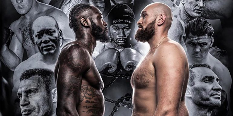 deontay wilder vs tyson fury box - titul WBC