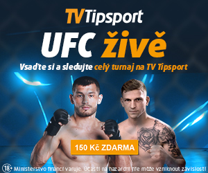 UFC živě na TV Tipsport