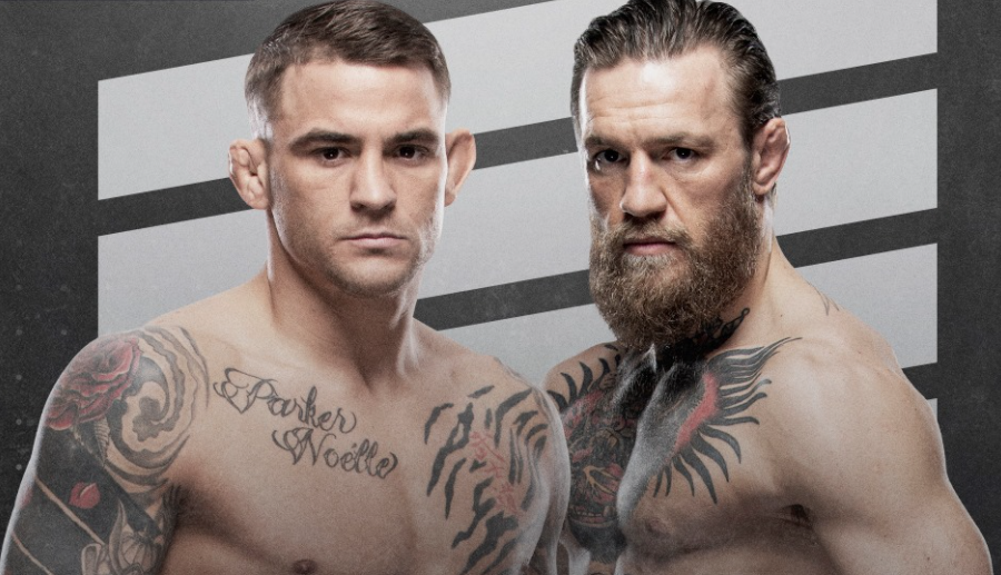 UFC 257: Poirier vs. McGregor 2 program, karta a výsledky
